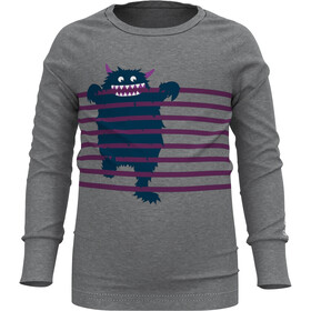 Odlo Active Warm Eco Tre Crew Neck Longsleeve Kinderen, grey melange/graphic20